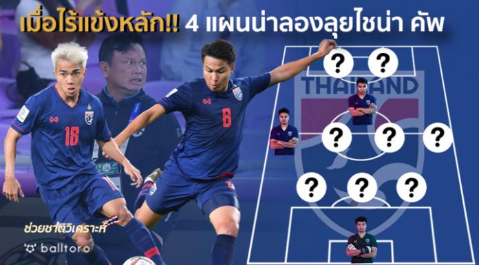 ช่วยชาติวิเคราะห์ : 4 แผนเด็ด ทีมชาติไทย น่าลองใช้ เมื่อขาดแข้งหลักเพียบ
