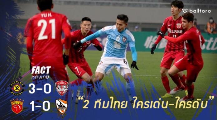 Fact หลังเกม : ใครยอดเยี่ยม-ยอดแย่ 2 ทีมตัวแทนจากไทยในรอบเพลย์ออฟ ACL