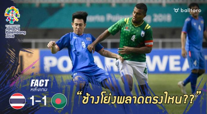 Fact หลังเกม : 5 ปัญหาใหญ่ทำ ทีมชาติไทย ไร้ชัยเหนือ บังกลาเทศ